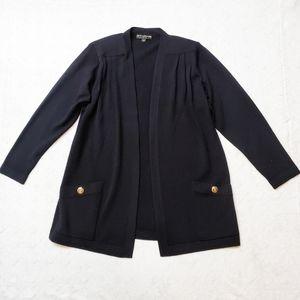 St. John | Basic Black Cardigan/ Blazer